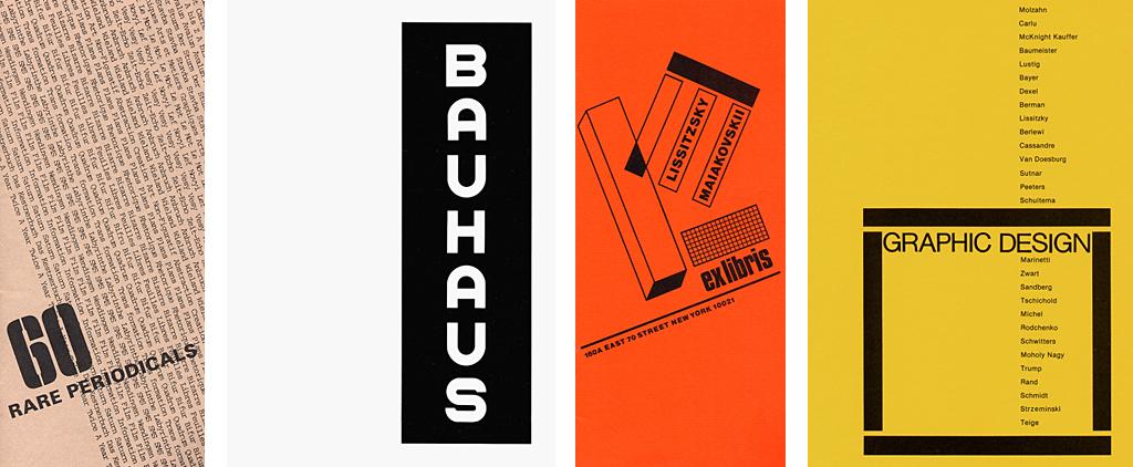 Ex Libris catalogs, 1979–83.