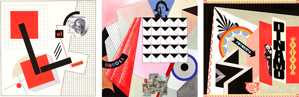 My Heroes: Portraits of the Avant-Garde: Lissitsky, 2008; Popova, 2008; Depero, 2009.