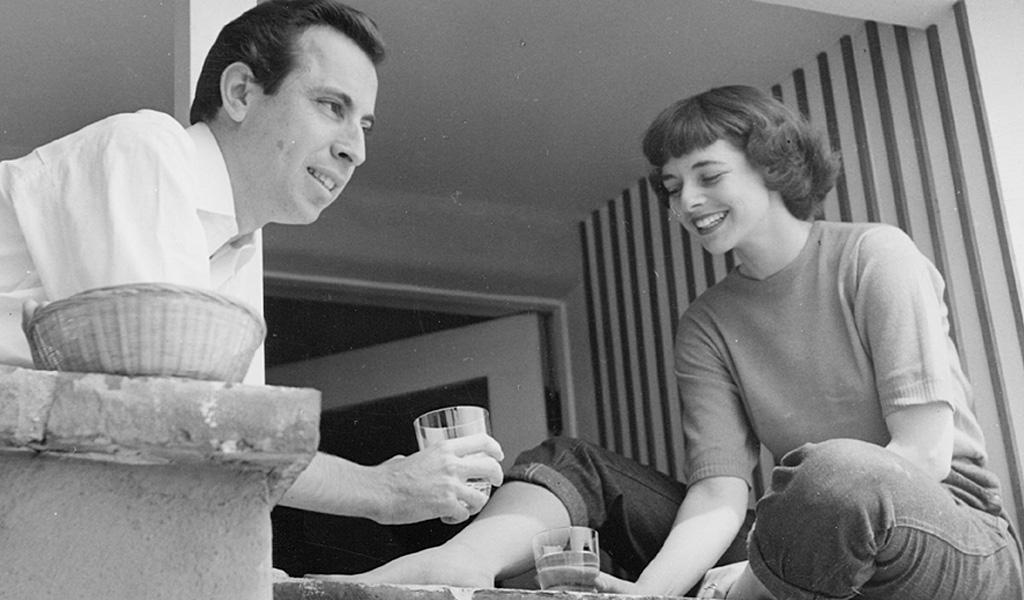Alvin and Elaine Lustig, Los Angeles, 1949.